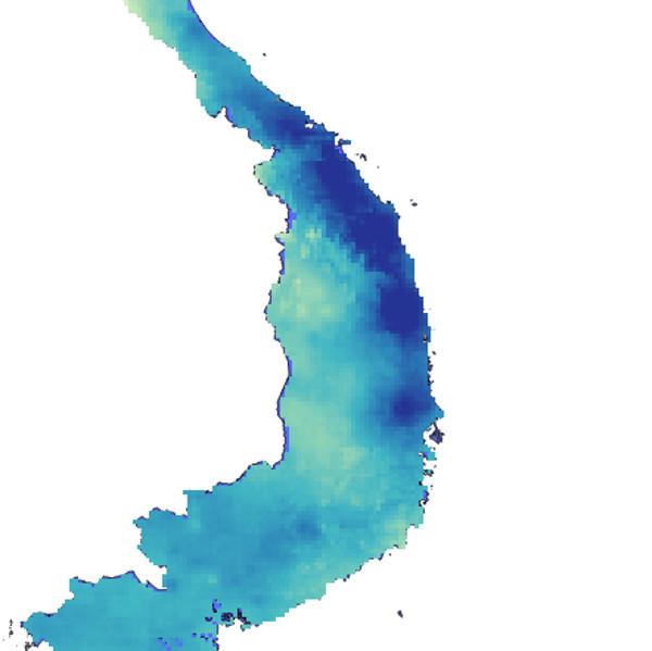 Working with CHIRPS rainfalldata
