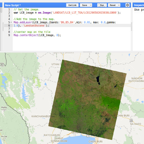 Introduction to Google Earth Engine part III