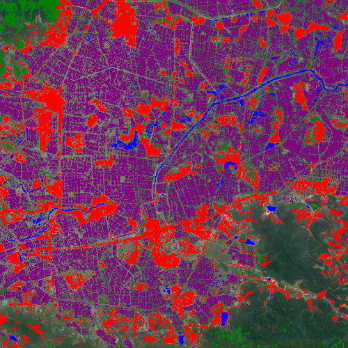 Land-use mapping with Sentinel 1 & 2