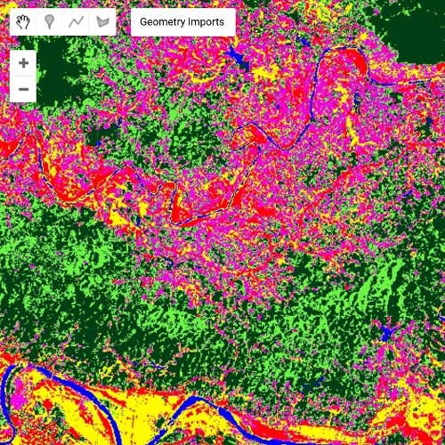 Mapping landuse with Landsat-8