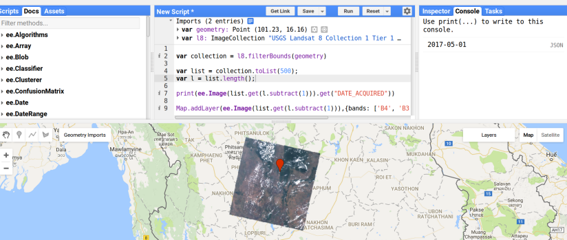 USGS Landsat 8 Collection 1 Tier 1 and Real-Time data TOA Reflectance (Orthorectified)