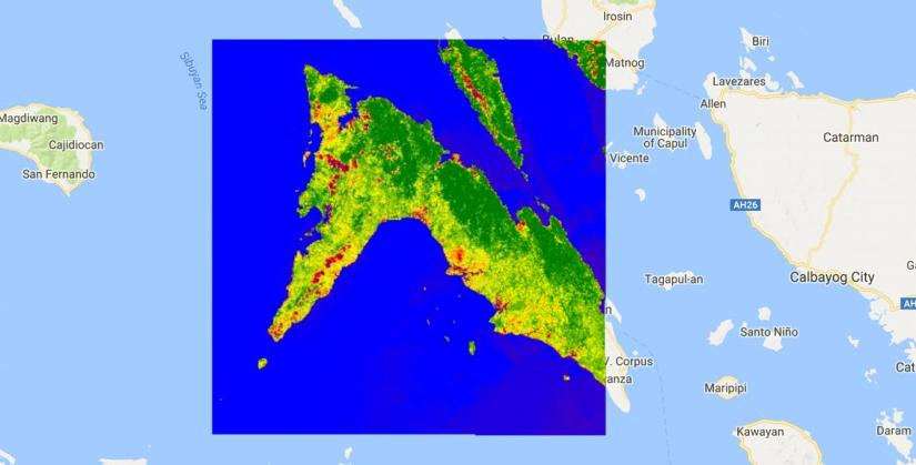 Calculate NDVI from sentinel 2