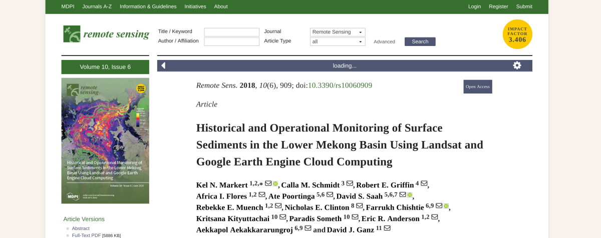Another paper published!