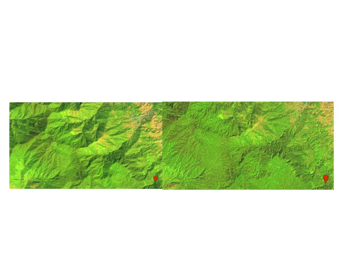 Sentinel 2 terrain correction