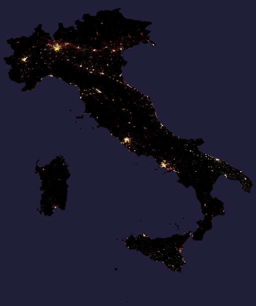 Night Lights Italy